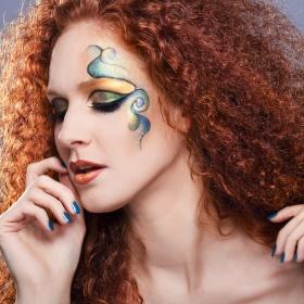 makijaż rysunkowy