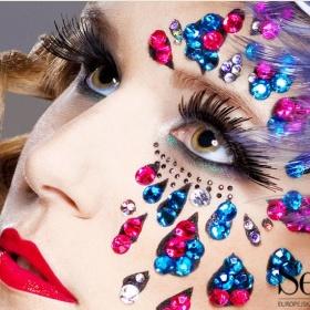 makijaż diamentowy