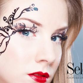 makijaż naklejany