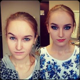 Makijaż fotograficzny.